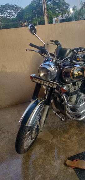 Royal Enfield Classic Chrome 500cc 3500kms driven