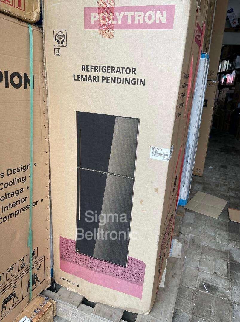 lemari es 2 pintu Polytron Kulkas PRB-219