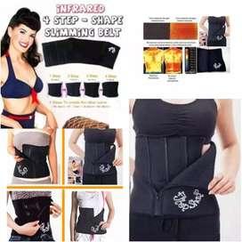 4 Step Shape Slimming Belt/Korset Pelangsing