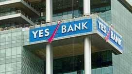 Yes Bank hiring candidates.