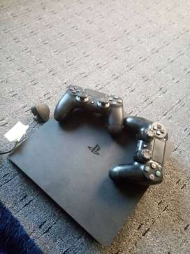 PlayStation 4 with original controllers
