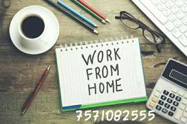 Without any stress work ad posting typing work with your pc or laptop