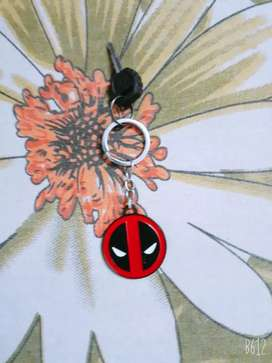 Marvel Deadpool metal key chain