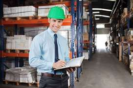 Hiring for warehouse supervisours