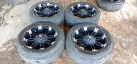 balistick r20x9 h6x139+ban 275/55 pakean pajero,fortuner,hilux ford dl