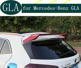 Rear roof spoiler for Mercedes Benz GLA Class