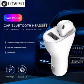 Car Charger + i7 ear buds