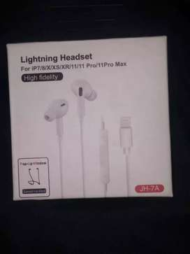 Iphone 2in1 lightning headset For Ip7/7+/8/X/Xr/Xs/11