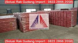 Pusat Rak Gudang Shelving Medium Duty 150kg-8000Kg Siap Pasang