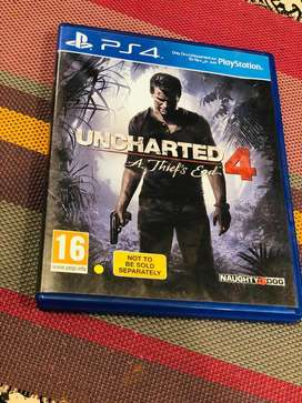 Uncharted 4(PlayStation4)!