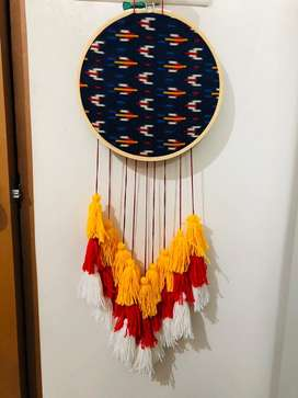 Colourful and trendy dreamcatcher