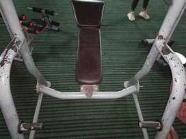 Decline bench press