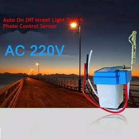 Photocell AC 220V 10A Sensor Cahaya Photo Foto Cell Model Selcon