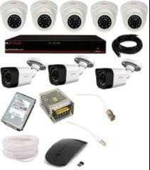 CP PLUS HD CCTV 8CH CAMERA SET UP-
