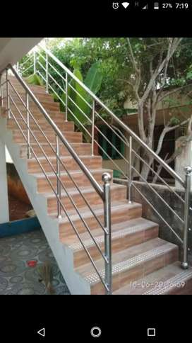 Stainsless Steel Railing and Elevation