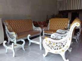 Sofa tamu rafi ahmad cat duco kombinasi