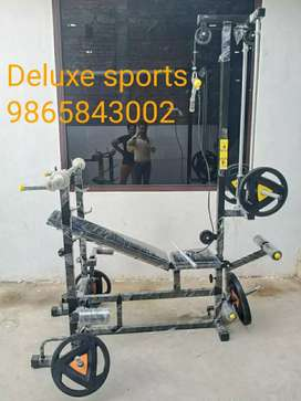 Gym equipment, Carrom board, Circket bats, Sports goods