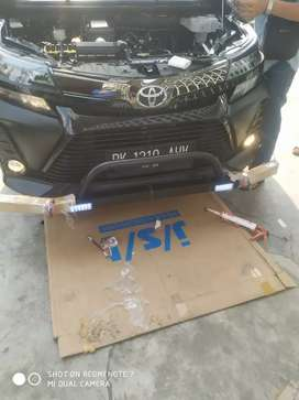Palang ARB depan kuat fortuner, rush grand new avanza ( Megah top )
