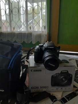 Canon 3000d ori lengkap