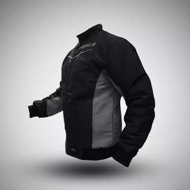 Jaket Cassual Racing Hitam Original by Rebel id (Real Pict)