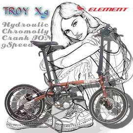 Element Troy X9 16inch Edisi Agustus 2021 Crankset ION