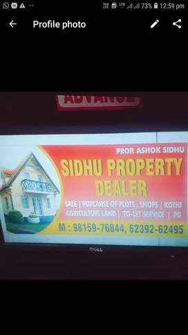 All kind of properties house sale purchase or on Rent