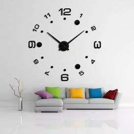 Giant clock angka titik