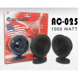 TERBAIK Mini Tweeter ACOUSTIC AC-025 1000 WATT 1000w