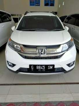 Honda BR-V E CVT Matic 2018 putih pajak panjang bln 1 2021 nopol G