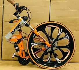 All new 21 gears foldable cycles in BMW AUDI MERCEDEZ