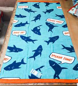 Printed Bath Towels (Export Quality)