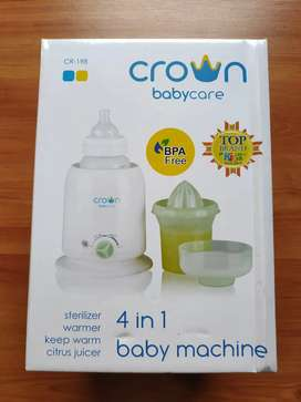 Crown Babycare 4in1 Baby Machine Sterilizer Botol Bayi
