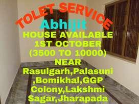 1RK/1Bhk/2Bh/3Bhk Available Near Palasuni To Lakshmi Sagar