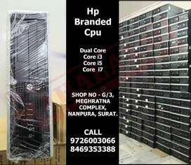 BEST QUALITY **Hp Branded Cpu** HIGH SPEED 1 YEAR WARRANTY CPU