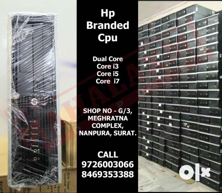 BEST QUALITY **Hp Branded Cpu** HIGH SPEED 1 YEAR WARRANTY CPU 0