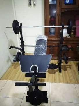 alat fitness bench press
