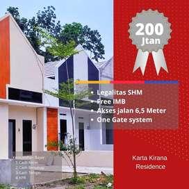 Rumah Minimalis modern Prambanan dikawasan pengembangan pemukiman