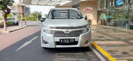Nissan Elgrand At 2012 Highway Star Silver Met Low Km Mulus Istimewa