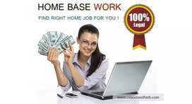 Dynamic opportunity -part time home based work