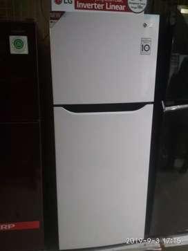 Kulkas Lg warna putih