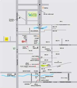 2BHK +Store Room Flat For Sale In Shri Radha SKy Garden,Greater Noida