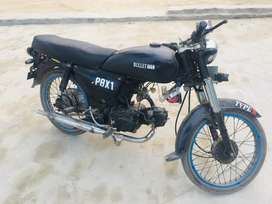 United bike modify by bullet good condetion