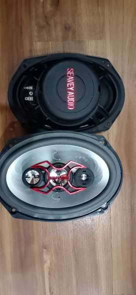 New Cash On delivery 6x9 Oval Car Speakers 1000 Watt Seavy Audio
