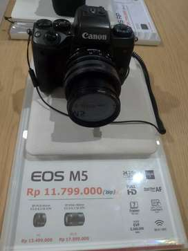 CANON EOS M5 Body Only Promo 0%