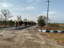 3890 Rs per sq yd Plots near Timmapur Rly Station