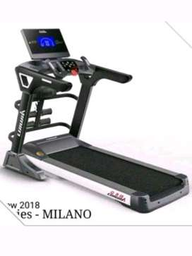 New series millano Treadmil Elektrik