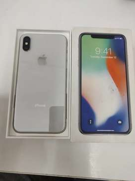 Apple iPhone x 64 gb 1.5 year old all accessories available