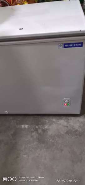 Blue Star deep freezer 500ltr brand new,4 saal full warranty