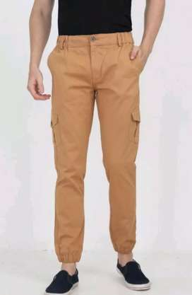 Cotton men's trousers for lazy afternoon