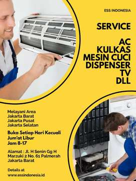 Service AC Kulkas Mesin Cuci Jakarta Barat